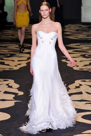Best 25  Versace wedding dress ideas on Pinterest