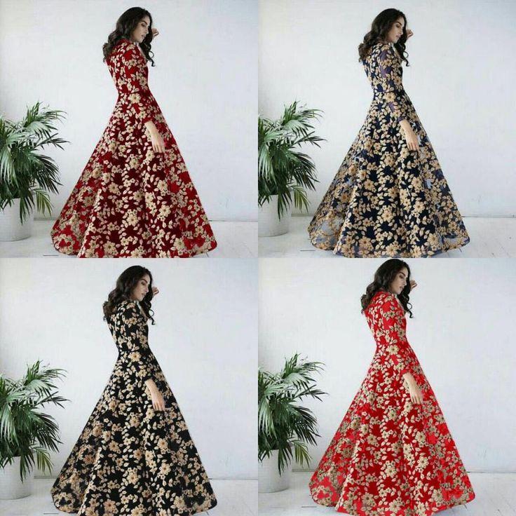 Anarkali Dress Bollywood Indian Pakistani Designer Ethnic Salwar Kameez Suit. #Unbranded