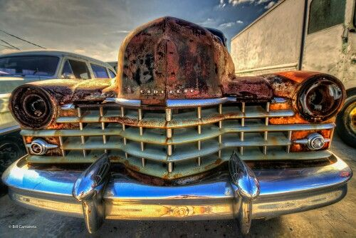 Funky Caddy - This old school gem was captured in the perfect light by one of our new contributing photographers. Discover & purchase more of his work on www.burdseyeview.ca