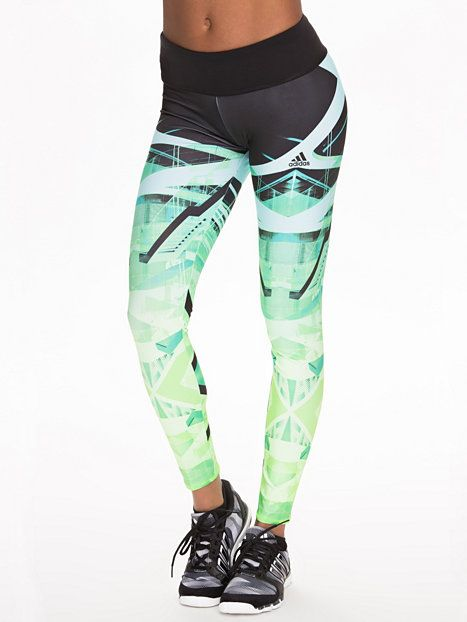 Spo Laces Tights - Adidas Performance - Mint