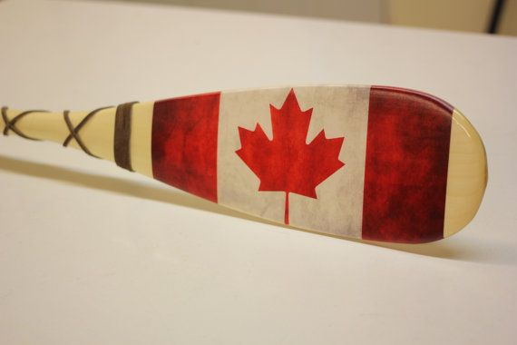 Miniature Vintage Canadian Flag Cottage Gift by GeorgianBayTackle