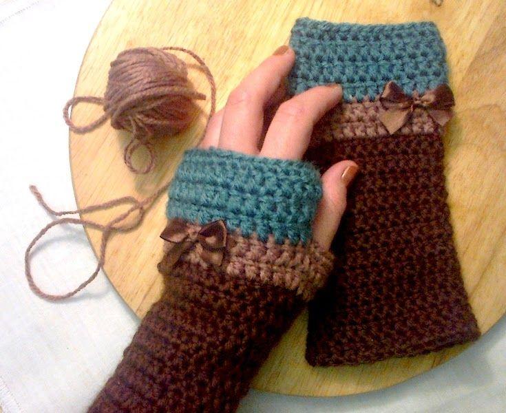 gloves, crochet gloves, návod na háčkované rukavice, háčkované rukavice