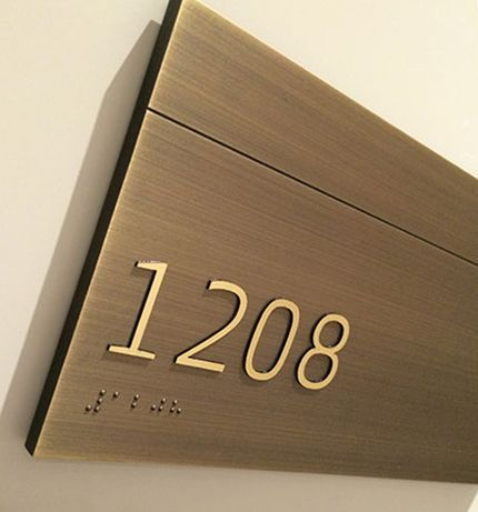 Dura Architectural Signage » Statuary Bronze Room Signs