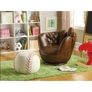 Furniture for a Baseball Bedroom Theme