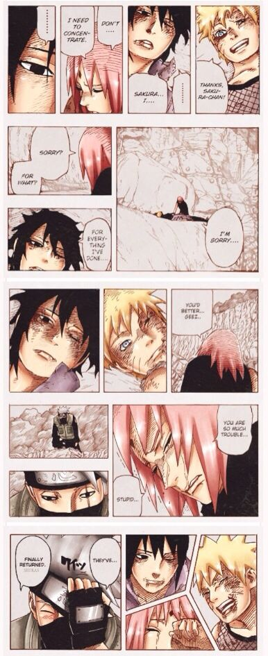 Naruto 699--THE FEEELSS <3 <3
