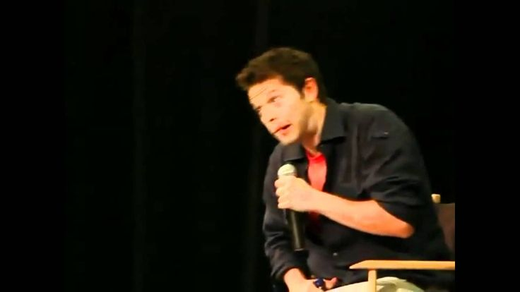 """Misha on slash fiction (VOSTFR) """"we're not supposed to talk about it"""" <-lol spn reference much?"""