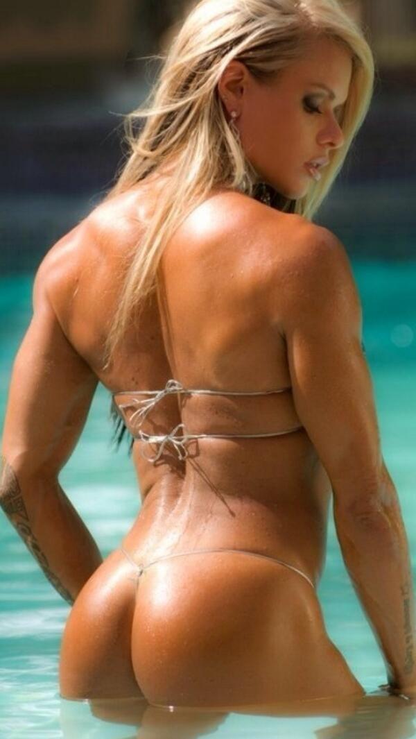 female fitness model ass naked
