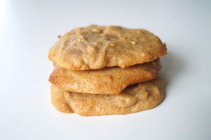 Superlækre peanutsmåkager med 3 ingredienser