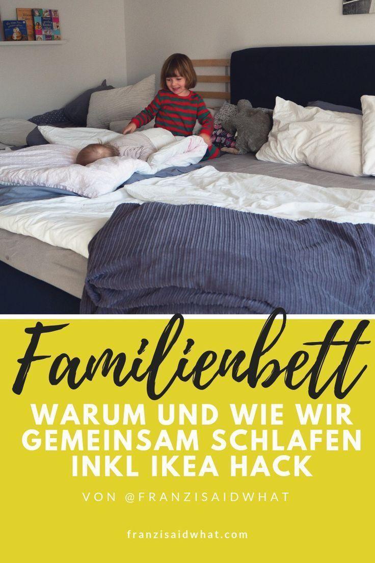 Ein Familienbett Mit Baby Und Kleinkind Franzisaidwhat Familien Bett Familienbett Kleinkind