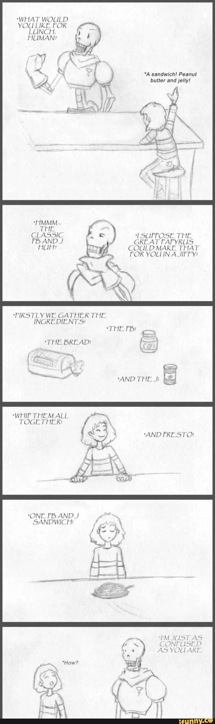 papyrus, undertale, spaghetti, frisk, comic