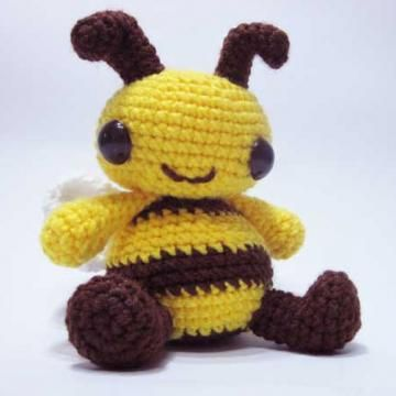 Easy Amigurumi Cat Pattern : Boo the Bee amigurumi pattern by Sweet N Cute Creations ...