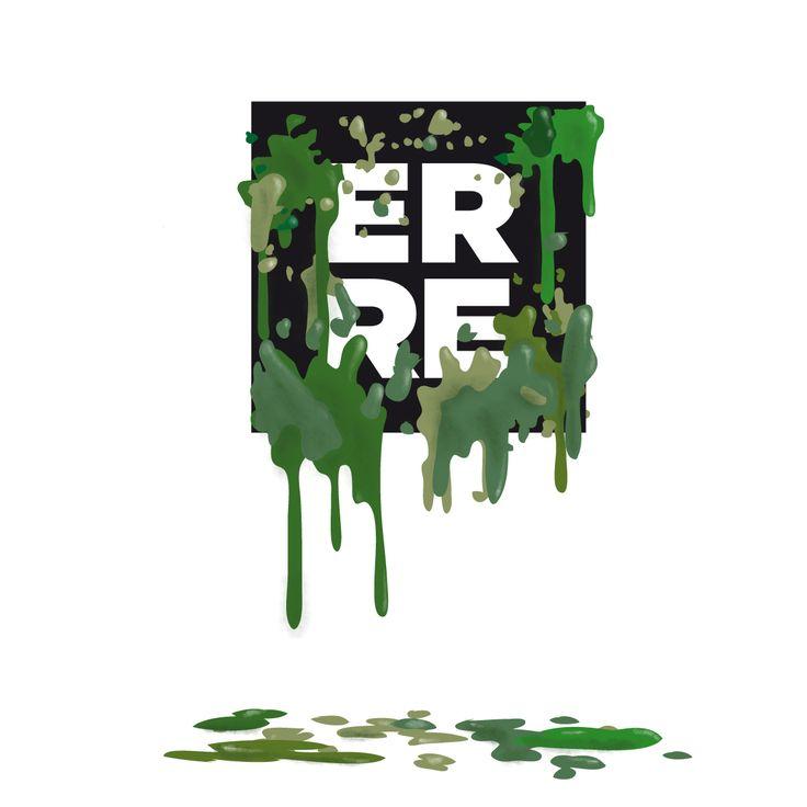 Green Erre #illustration #green #erre #erreurrutia | www.erreurrutia.com