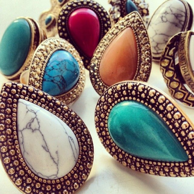SAMANTHAS WANDERLUST  jewelry bohemian gold turquoise vintage luxe