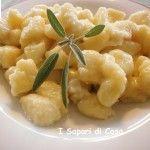 Gnocchi di patate con crema di Tosella (Gnocchi col Frik)