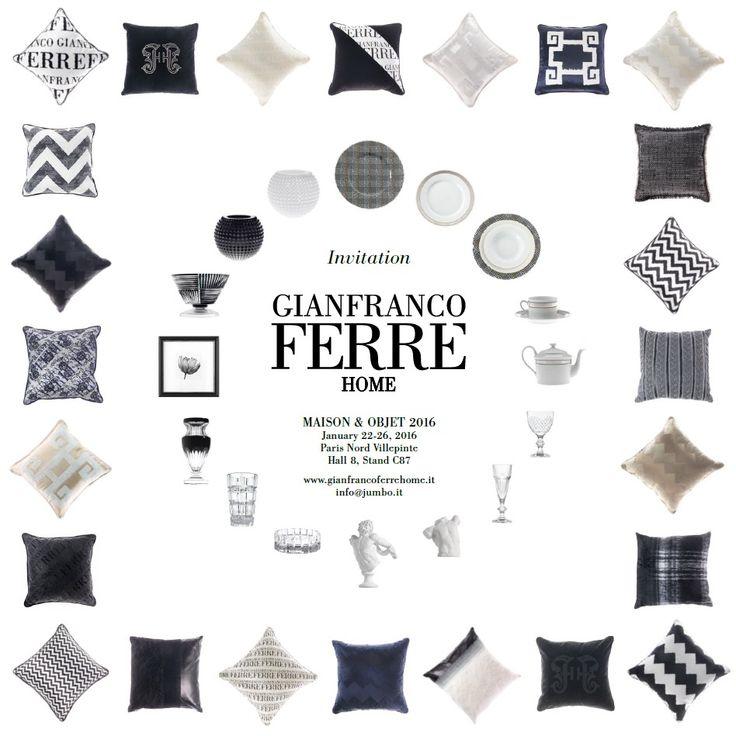 Gianfranco Ferré Home | Maison et Objet Paris 2016
