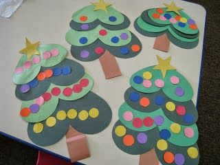 Titina's Art Room: 10 ιδέες για χριστουγεννιάτικα έλατα...