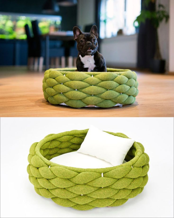 These Woven Pet Beds Give Your Fur Pals A Safe Place To Sleep