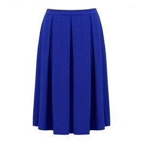 Gwen Pleated Midi Skirt