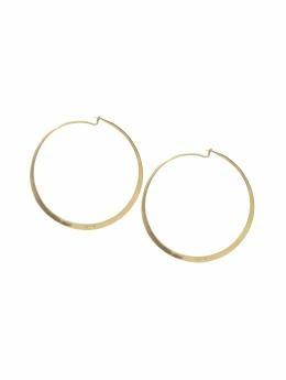 daily hoops: Gold Hoop