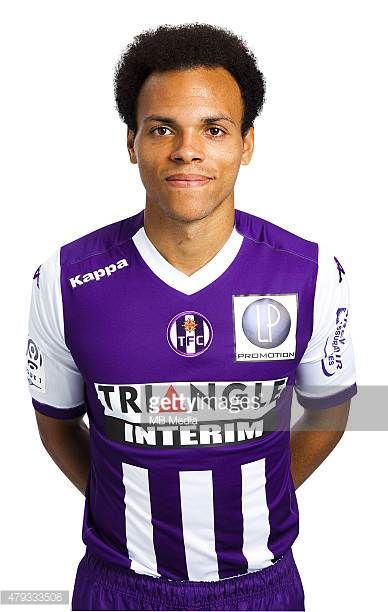 Martin Braithwaite Portrait Officiel Toulouse Ligue 1 Photo Saada / Icon Sport/MB Media