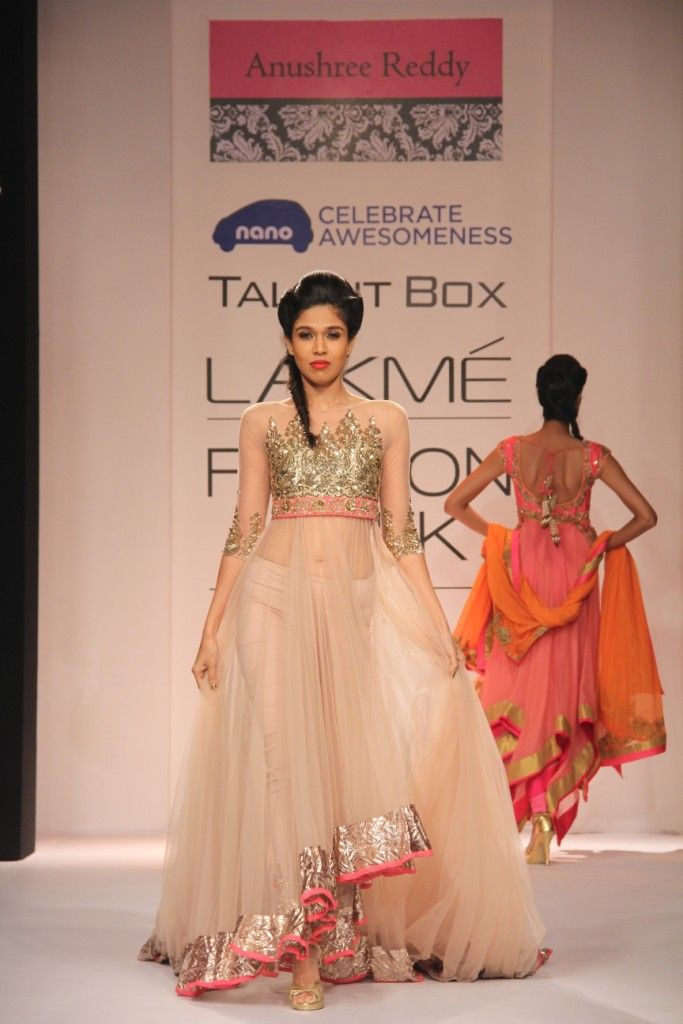 Lakmé Fashion Week – Anushree Reddy LFW WF 2013