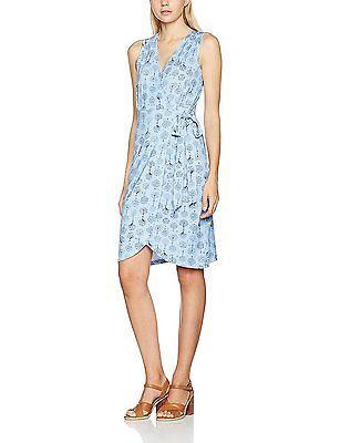 joe browns womens fresh summer dress multicoloured blue 16