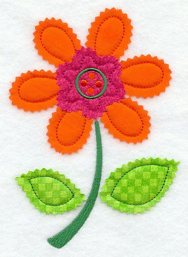 This is a really cute for applique sewing for kids projects! I need to show how to do this in a video.