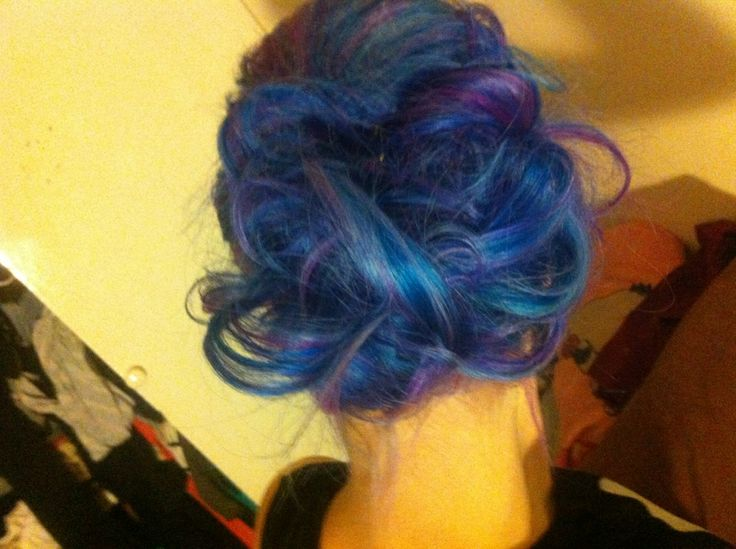 #colourful #curly #twist