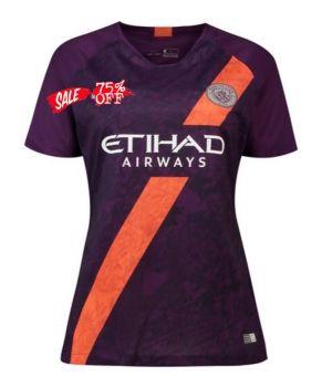 2018-19 Cheap Women Jersey Manchester City 3rd Replica Soccer Shirt  CFC837  d39d750855