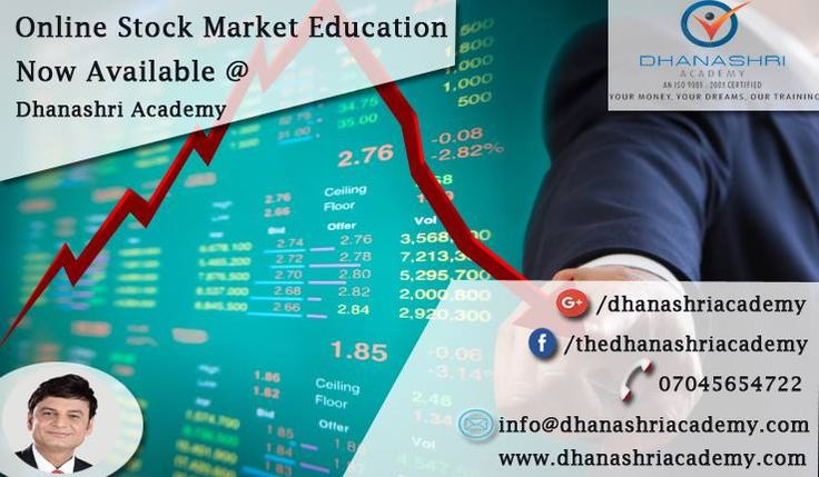 Online #Stock_Market #Education – Now Available @ Dhanashri Academy Do You Want to invest your money in Share Market? Don't you have any idea about stock market trading? Don't worry, Dhanashri Academy Provide one of the best Online Stock Market Education. Contact us for more details and information about our online Stock market courses. 07045654722 http://www.dhanashriacademy.com/