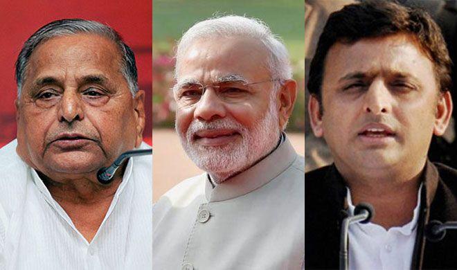 मुलायम ने बेटे अखिलेश से कहा, 'PM नरेंद्र मोदी से सीखें यह बात' - India TV