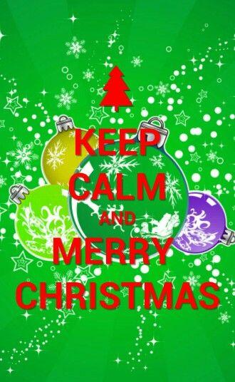 Keep Calm..,and Merry Christmas