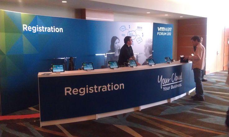 Registration Counter Design Pinterest