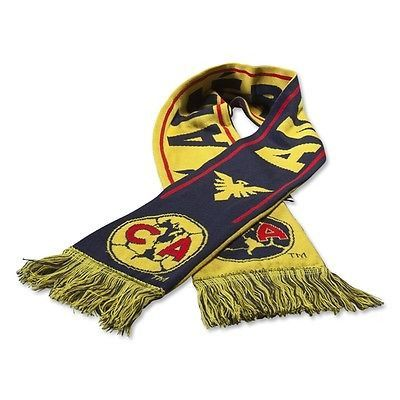 CLUB AMERICA AGUILAS SUPPORTERS SCARF.