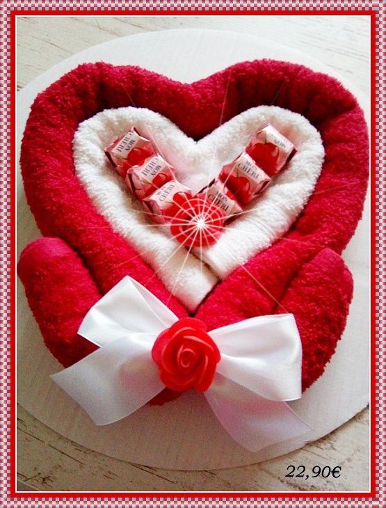 21 besten Geschenke aus Handtüchern zur Hochzeit Bilder auf