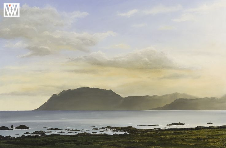 New Zealand Oil Landscape Painting -Cape Runaway in New Zealand