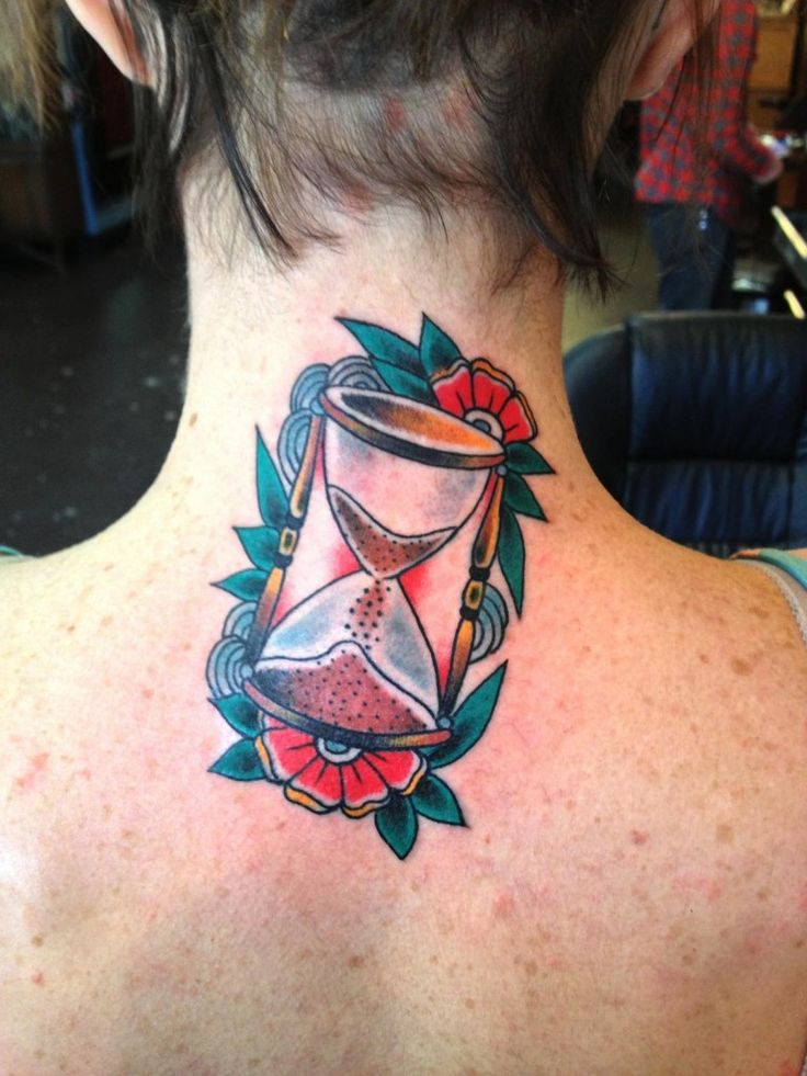 Hourglass Tattoos Designs Ideas and Meaning | Tattoos For You