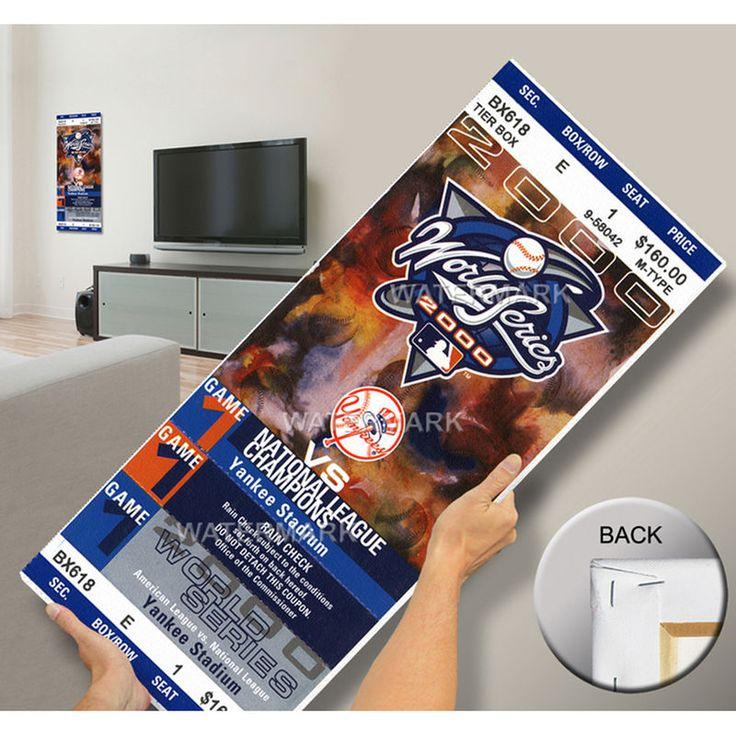 2000 World Series Mega Ticket- New York Yankees