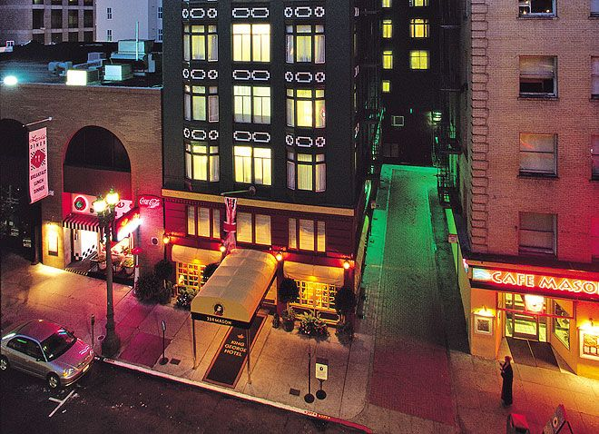 The King George Hotel a boutique hotel located in Downtown San Francisco, California. Be there in a few days!!! Can't wait!