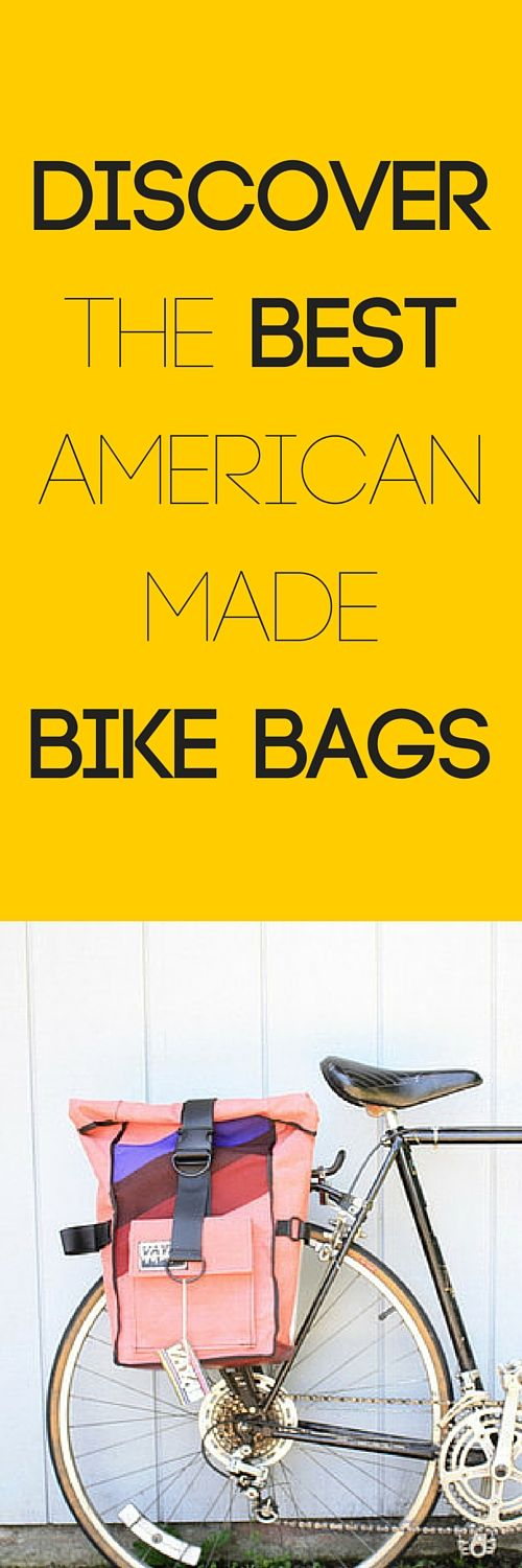 Discover the best handmade, American made bike bags.  Find great cycling gear from saddlebags to panniers @ http://nymb.co.