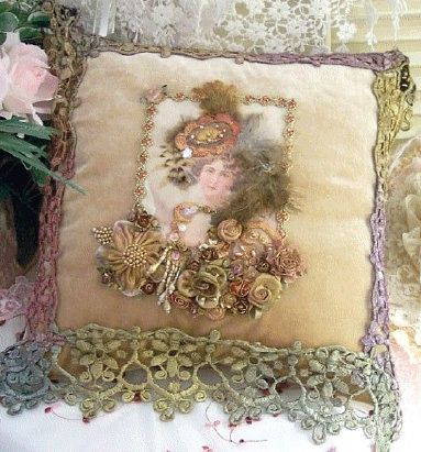 Victorian Bolster Pillows : 79 best images about Vintage Style on Pinterest Pin cushions, Shabby chic and Sari silk