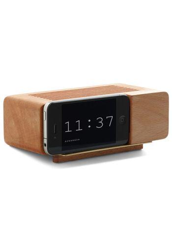 Wake Up Call iPhone Dock: Idea, Alarm Clock, Dock Clock, Wake Up, Call Iphone, Iphone Dock, Clocks, Design