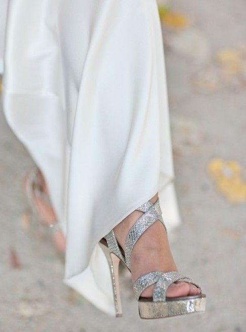 4ccb57f65cd www.weddbook.com everything about wedding ♥Jimmy Choo Wedding Shoes  wedding   shoes  metallic