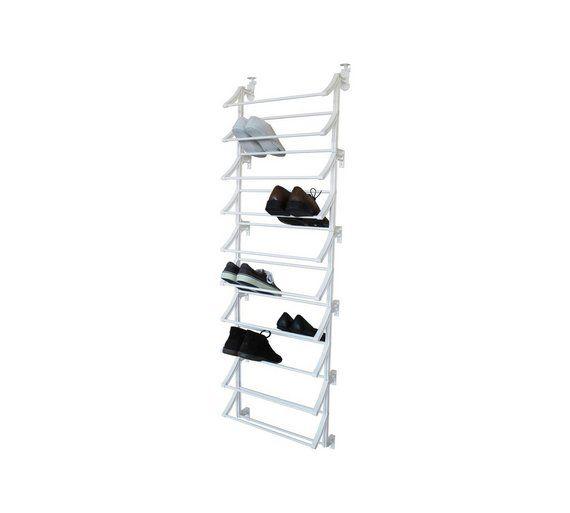 Buy HOME Hanging 10 Shelf Shoe Storage Rack - White at Argos.co.uk, visit Argos.co.uk to shop online for Shoe storage, Storage, Home and garden