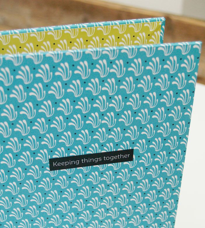 Business inspiration Binder, #concept and #patterndesign by #StudioNeeltje, handmade by @prienandmore