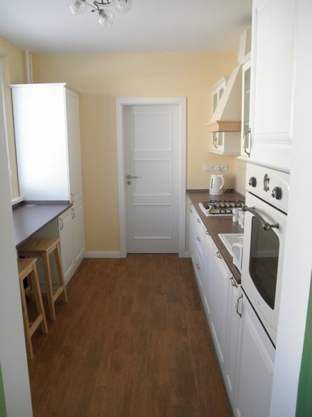 kuchyňa rustikálna biela - BMV Kuchyne
