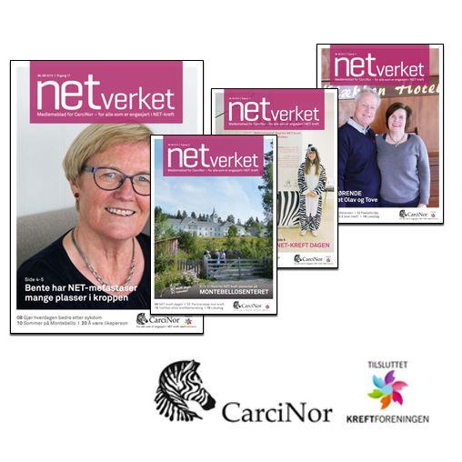 Du finner NETverket på  http://www.carcinor.no/index.php/medlemsblad