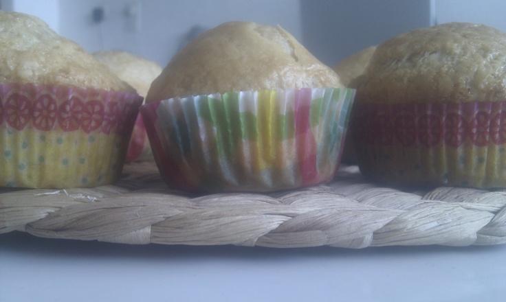 Lekkere veganistische cupcakes.