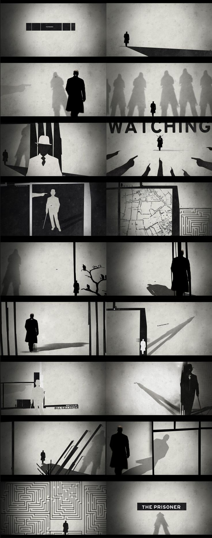 The Prisoner - Nate Howe Freelance Design + Art Direction
