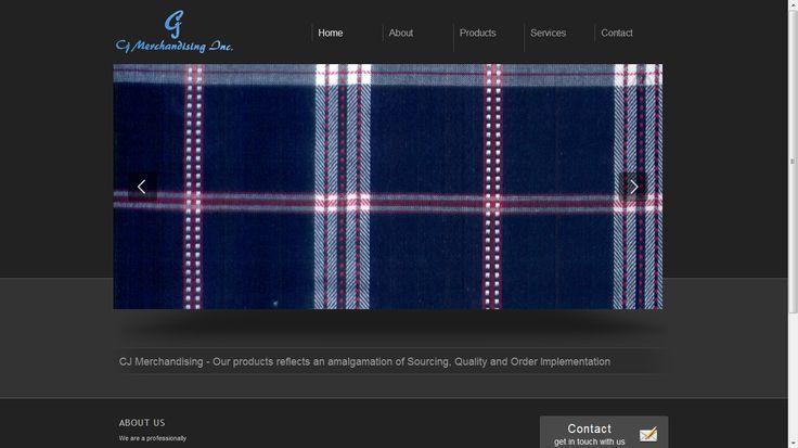 CJ Merchandising - Website Development